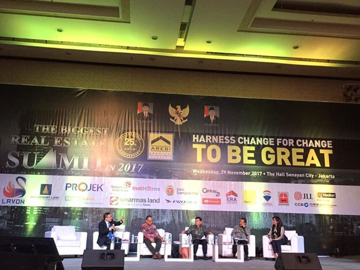 Arebi Summit 2017, Harness Change To Be Great